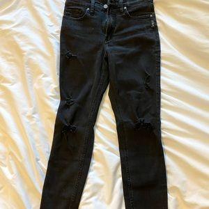High waist Silver Jeans black size 26